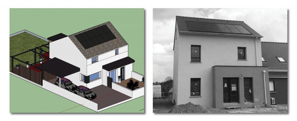 Projet de maison passive rennes thermibloc ille et for Projet maison individuelle