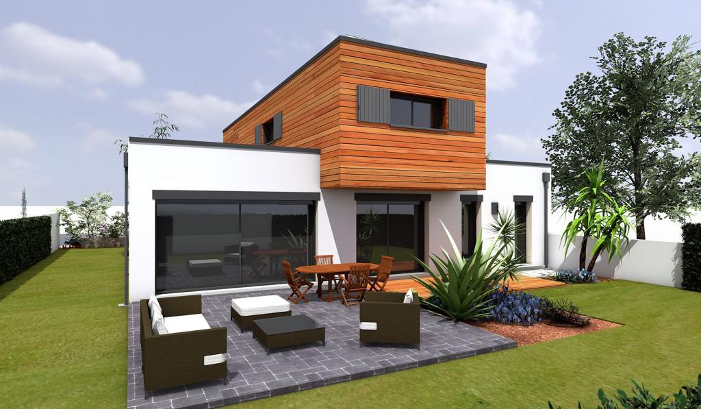 Construction d'une maison passive dans le 85 avec le bloc Thermibloc et l'entreprise CMBB
