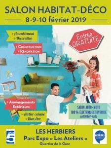 Affiche 2019 du salon de l'habitat des Herbiers