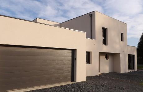 Construction d'une maison en bloc Thermibloc à Amfreville