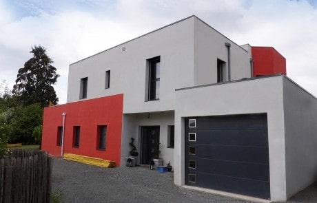 Tres jolie maison réalisée à Saint-Cyr-sur-Loire
