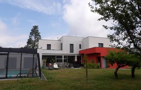 La réalisation d'une maison en bloc Thermibloc à Saint-Cyr-sur-Loire